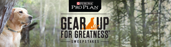 Purina Pro Plan - Gear Up For Greatness Sweepstakes